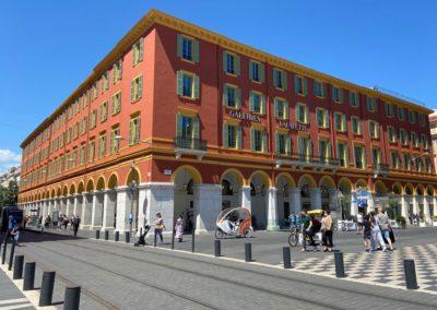 Ravalement - Galeries Lafayette - Nice